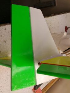 Rudder Attached (Hinged)