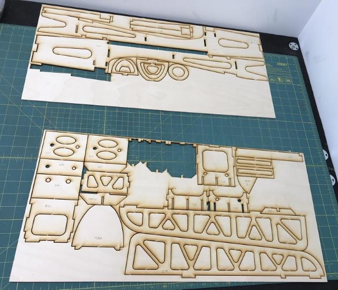 Aero3D Laser Cut Sheets