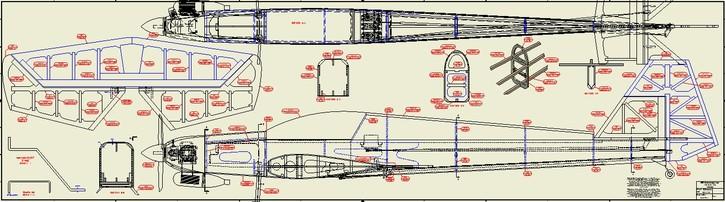 Aero 3D Fuselage Plan