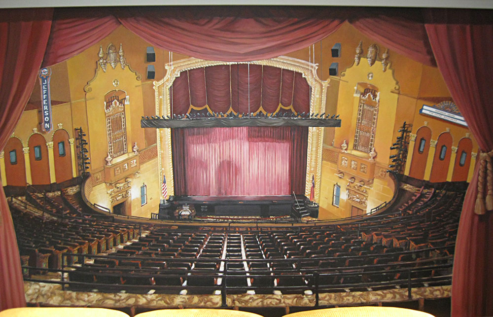 New Mural Jefferson Theater  Dream Walls