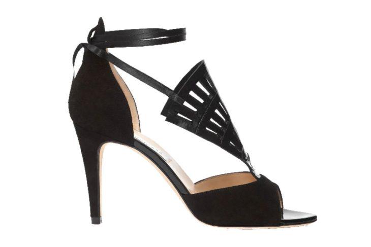 black wedding shoes by Benincasa Milano