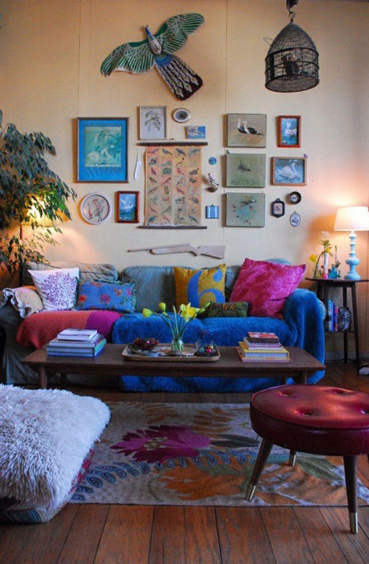Bohemian Living Room Design