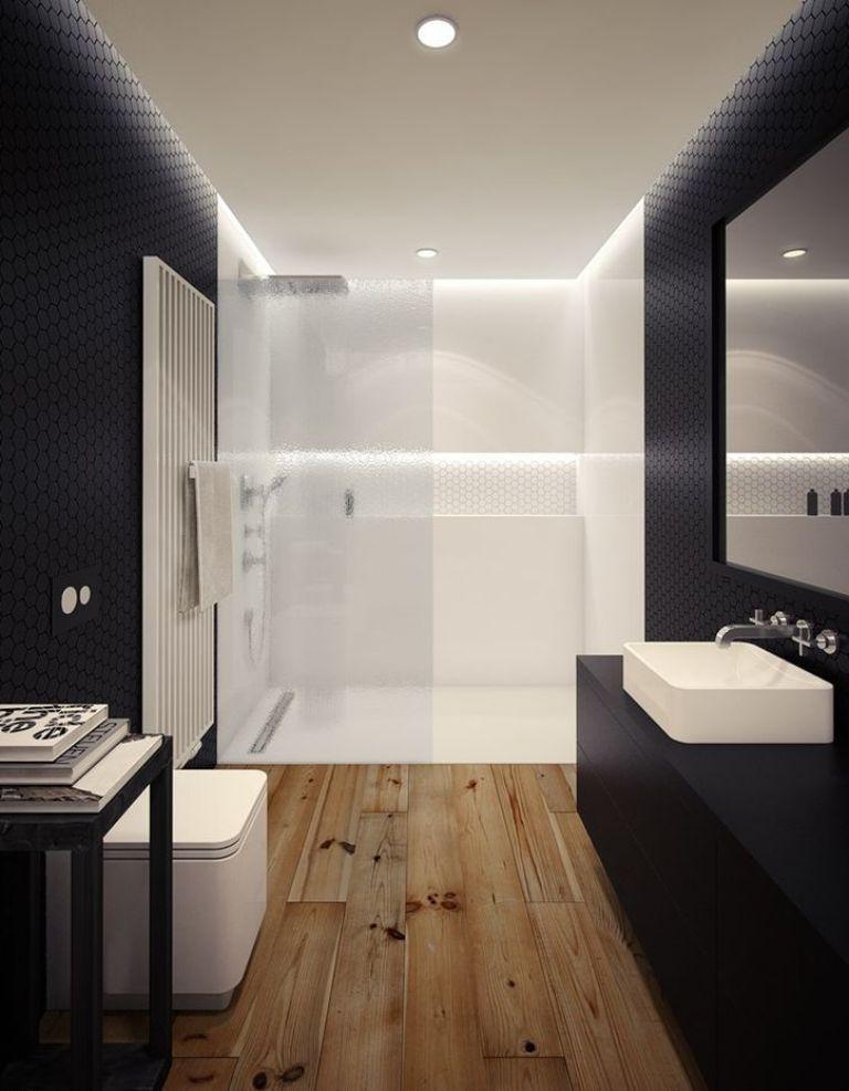 Bathroom Ideas With Wood Floors
