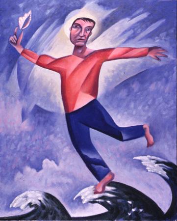"""""""Walking on Water"""" by James B. Janknegt, 1991"""