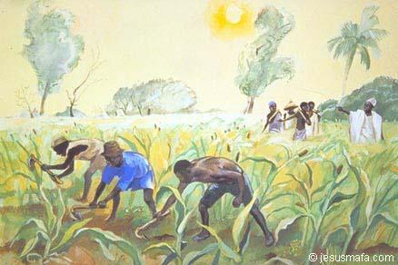 """""""The late comers""""  from Vie de Jesus MAFA"""