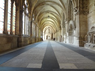 The halls of the cathedral.