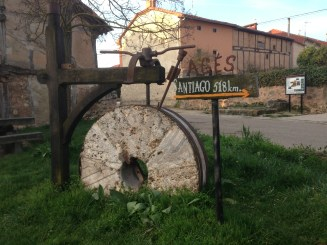 Just another cool Camino sign.