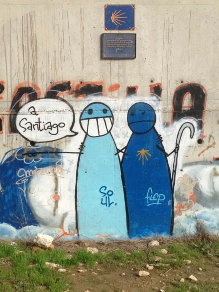 Camino graffiti.