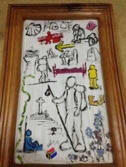Really cool Camino art.