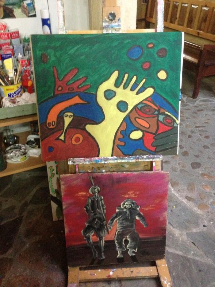 Finished Camino art.