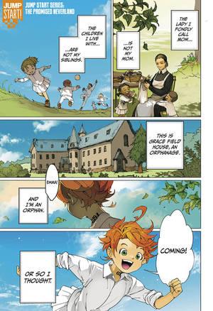 The Promised Neverland Chapitre 1 : promised, neverland, chapitre, Promised, Neverland,, Chapter, Manga, Official, Shonen, Japan