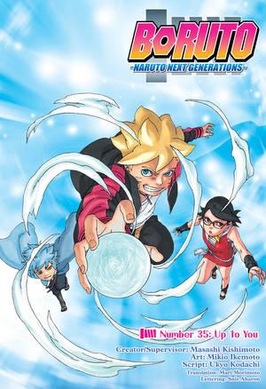 Manga Boruto 35 : manga, boruto, Boruto:, Naruto, Generations,, Chapter, Manga, Official, Shonen, Japan