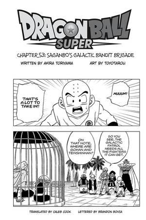 Dragon Ball Super Chapitre 54 : dragon, super, chapitre, Dragon, Super,, Chapter, Manga, Official, Shonen, Japan