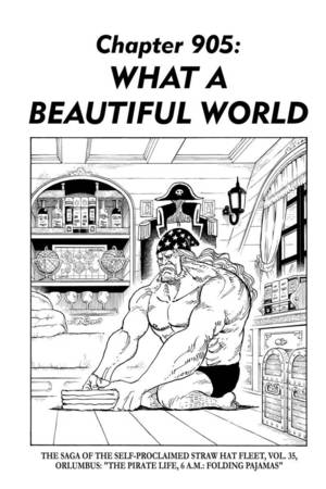 One Piece 905 Streaming : piece, streaming, Piece,, Chapter, Manga, Official, Shonen, Japan