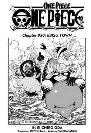 One Piece 930 Spoiler : piece, spoiler, Piece,, Chapter, Manga, Official, Shonen, Japan