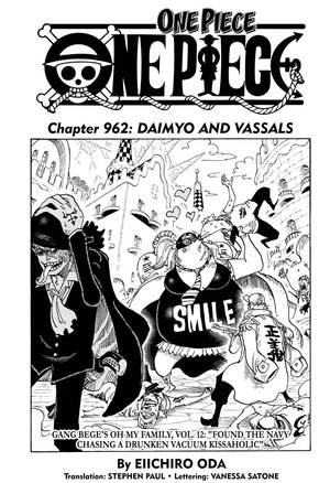 Spoiler One Piece 962 : spoiler, piece, Piece,, Chapter, Manga, Official, Shonen, Japan