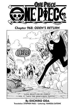Komik One Piece Chapter 968 : komik, piece, chapter, Piece,, Chapter, Manga, Official, Shonen, Japan
