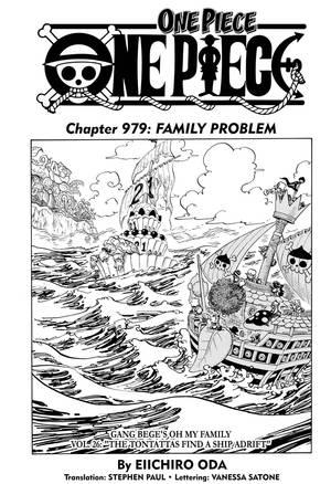 Komik One Piece Chapter 979 : komik, piece, chapter, Piece,, Chapter, Manga, Official, Shonen, Japan