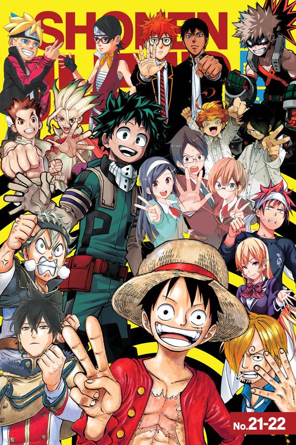 Weekly Shonen Jump 21-22 - Izuku Midoriya the Character That Stands Out