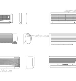 air conditioning dwg cad blocks free download  [ 1080 x 760 Pixel ]