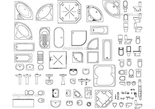 DWG models download, free CAD Blocks