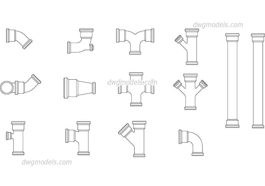 Pipe cad download