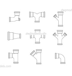 pvc sewer pipes dwg cad blocks free download  [ 1080 x 760 Pixel ]