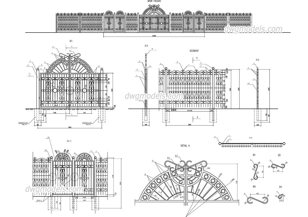 street fences and gates