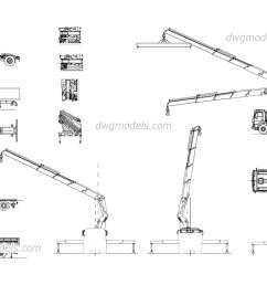 truck crane manipulator dwg cad blocks free download  [ 1080 x 760 Pixel ]