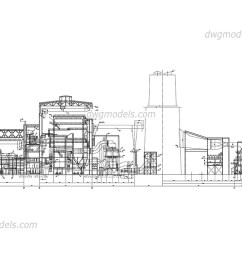 thermal power station of 1000mw dwg cad blocks free download  [ 1080 x 760 Pixel ]