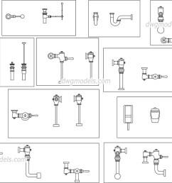 plumbing equipment dwg cad blocks free download  [ 1080 x 760 Pixel ]