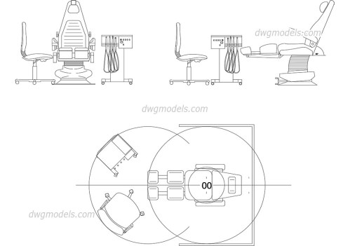 small resolution of dentist chair dwg cad blocks free download