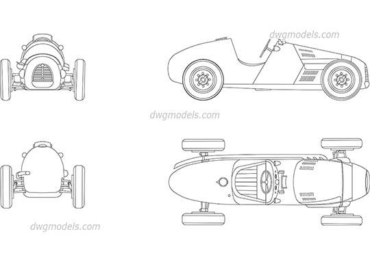 Caravans CAD blocks, DWG, AutoCAD drawings free download