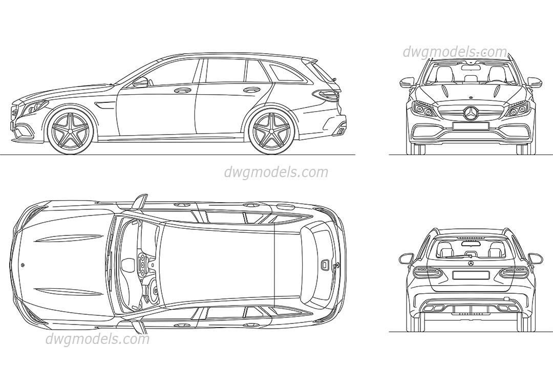 Mercedes Benz Drawing At Getdrawings Com Free For