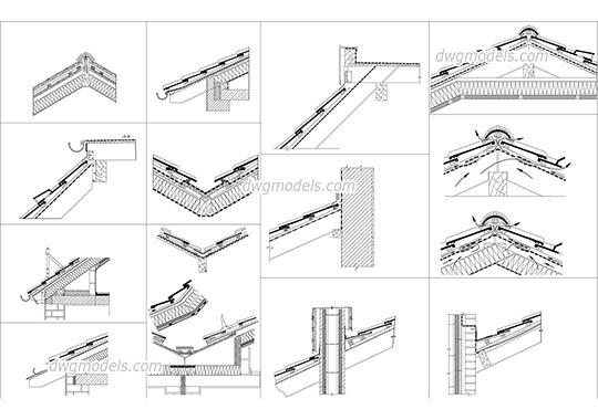 Corrugated sheet iron DWG, free CAD Blocks download