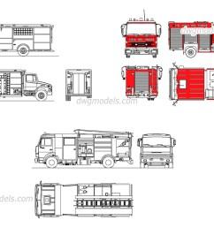fire trucks dwg free cad blocks downloadfire trucks dwg cad blocks free download [ 1080 x 760 Pixel ]