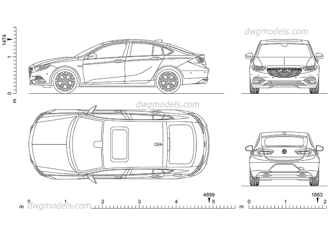 Holden Commodore DWG, vector, eps, pdf, png