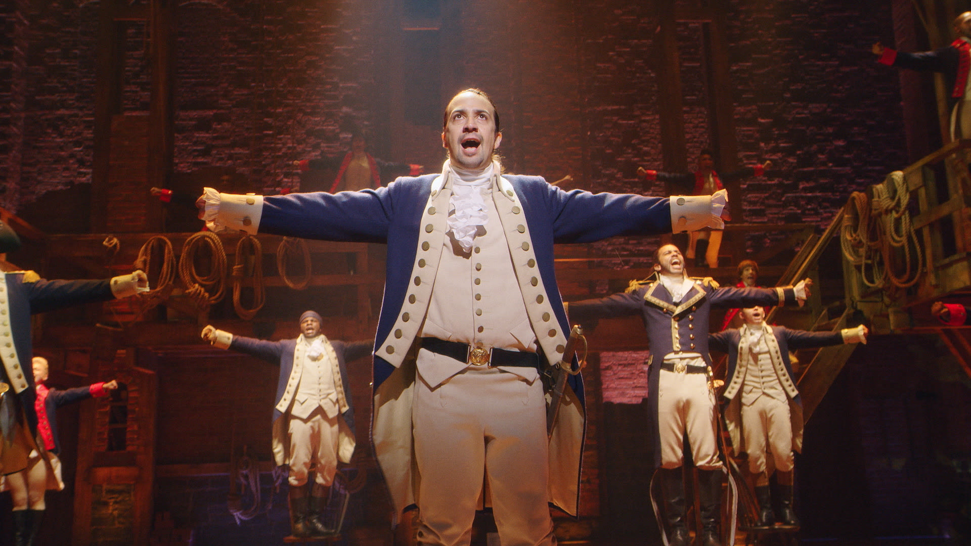 watch a hamilton stagehand on telling