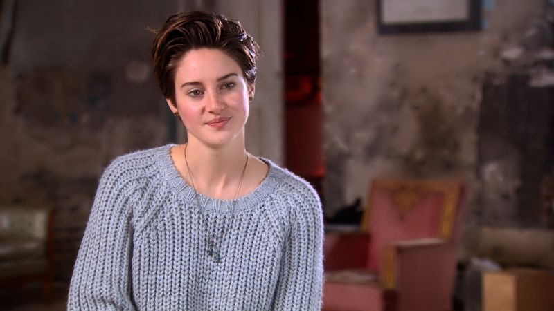 Watch Teen Vogues The Cover  Shailene Woodley Talks About Her Character Hazel in The Fault in