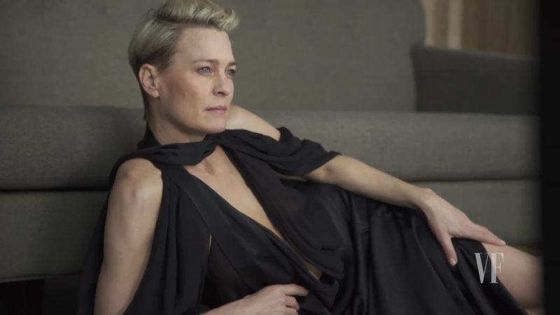 Watch Cover Shoots  On the Cover Robin Wright  Vanity