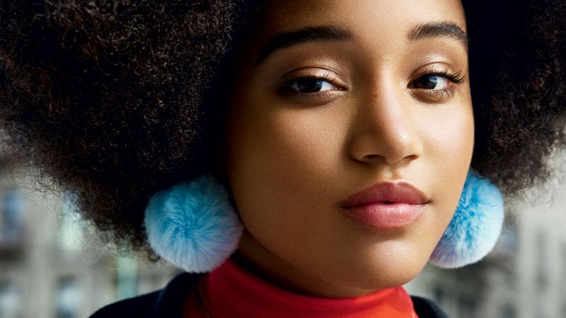 Watch Teen Vogues The Cover  Amandla Stenberg on Why Black is Beautiful and Powerful  Teen