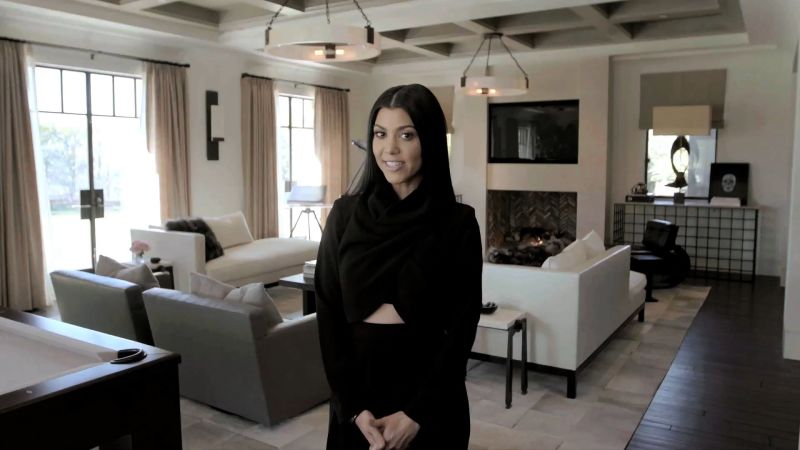 Kourtney Kardashian New Home Decor