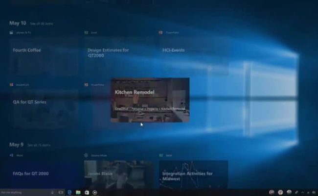 Watch Tech Resuming An Activity In Windows Timeline