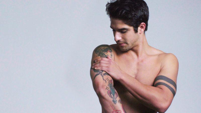 Watch Teen Wolfs Tyler Posey Explains His Tattoos  Teen