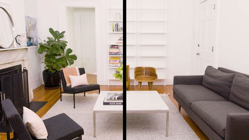 Watch A Living Room Makeover That Takes Just One Afternoon