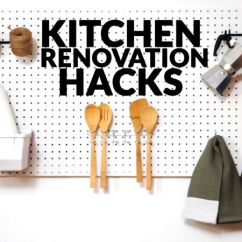 Cheap Kitchen Remodels Farmhouse Cabinet Hardware Watch Easy Renovation Hacks That Don T Cost A Lot Of Money Architectural Digest Video Cne