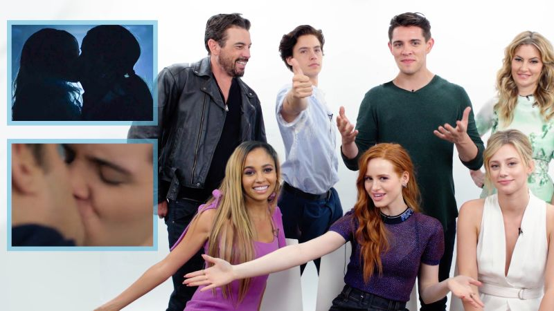 Watch Riverdales Cast Guesses Whos Kissing Who on Their
