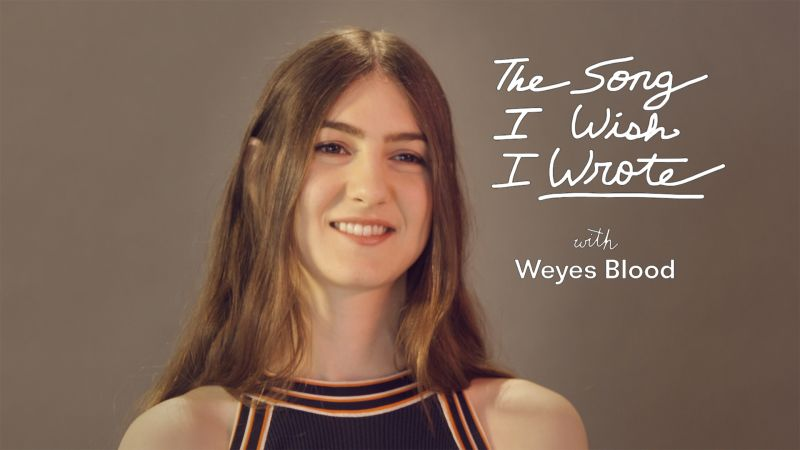 The One Song Weyes Blood Wishes She Wrote Pitchfork