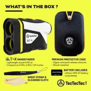 TecTecTec ULT-X Golf Laser Rangefinder Review 1
