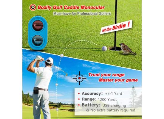 Bozily Golf Rangefinder with Slope